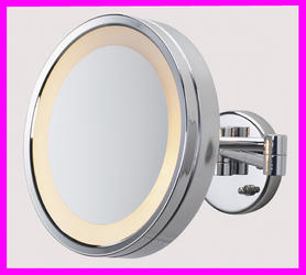 Large Chrome 10 Make Up Mirror