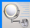 Chrome Lighted 8 Make up Mirror